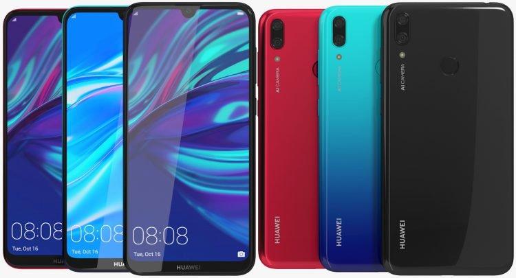 Huawei Y7 2019 etui